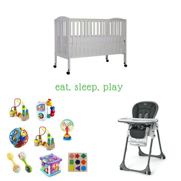 Eat, Sleep, Play Package