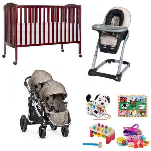 BabyQuip - Baby Equipment Rentals - Twin Package - Twin Package -