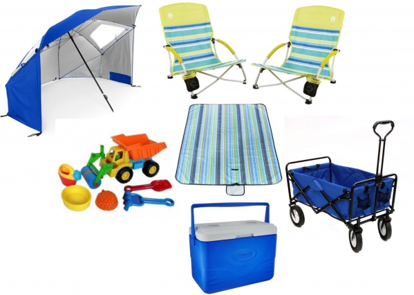 BabyQuip - Baby Equipment Rentals - Ultimate Beach Package - Ultimate Beach Package -