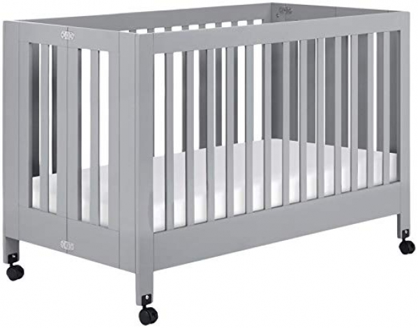 Babyletto Maki Full-Size Crib with Organic Linens