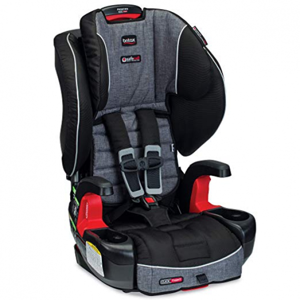 BabyQuip - Baby Equipment Rentals - Britax Frontier ClickTight Harness Booster  - Britax Frontier ClickTight Harness Booster  -
