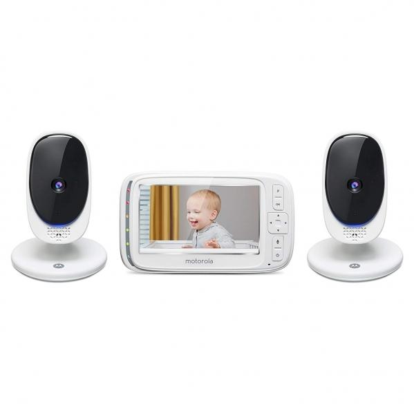 BabyQuip - Baby Equipment Rentals - Motorola Video Baby Monitor with 2 Cameras - Motorola Video Baby Monitor with 2 Cameras -