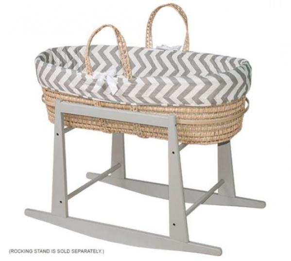 BabyQuip - Baby Equipment Rentals - Moses Basket and Stand - Moses Basket and Stand -
