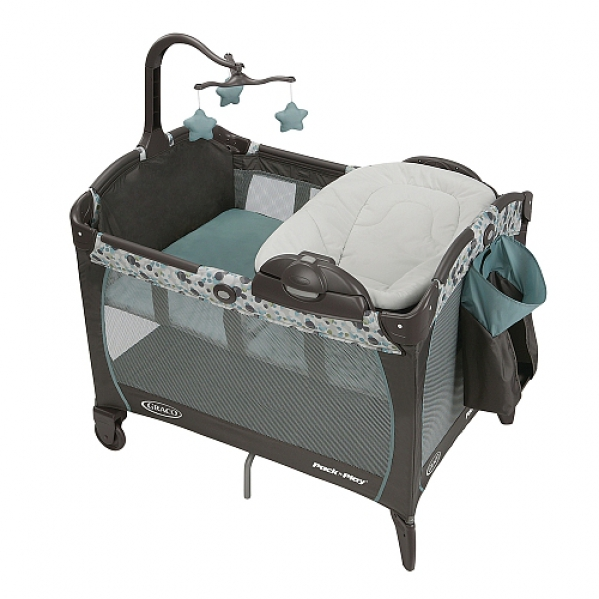 BabyQuip - Baby Equipment Rentals - Pack and Play with Bassinet Insert - Pack and Play with Bassinet Insert -