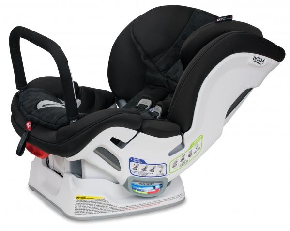 BabyQuip Baby Equipment Rentals - Britax Boulevard Convertible with anti-round bar - Sandra Gordon - Westport, Connecticut