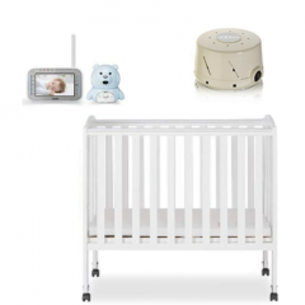 BabyQuip - Baby Equipment Rentals - Deluxe Sleep Package with Mini Crib - Deluxe Sleep Package with Mini Crib -