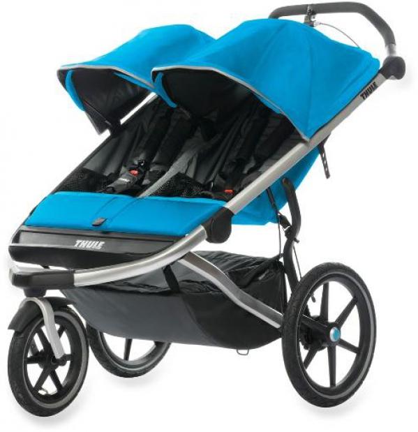 BabyQuip - Baby Equipment Rentals - Thule Double Jogging Stroller - Thule Double Jogging Stroller -