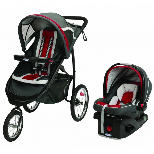 BabyQuip - Baby Equipment Rentals - Grace Fold Jogger Click Connect Travel System - Grace Fold Jogger Click Connect Travel System -
