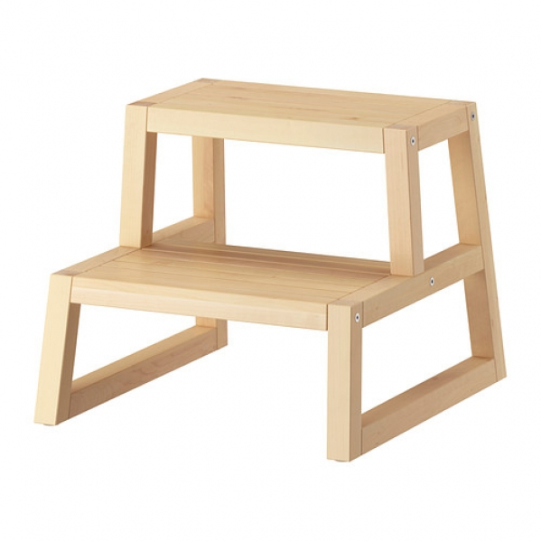 BabyQuip - Baby Equipment Rentals - Wooden Step Stool - Wooden Step Stool -