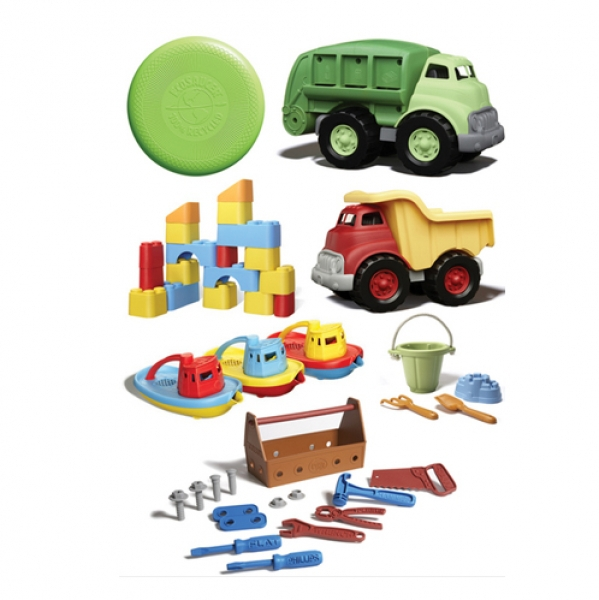 BabyQuip - Baby Equipment Rentals - Green Toy Package - Green Toy Package -