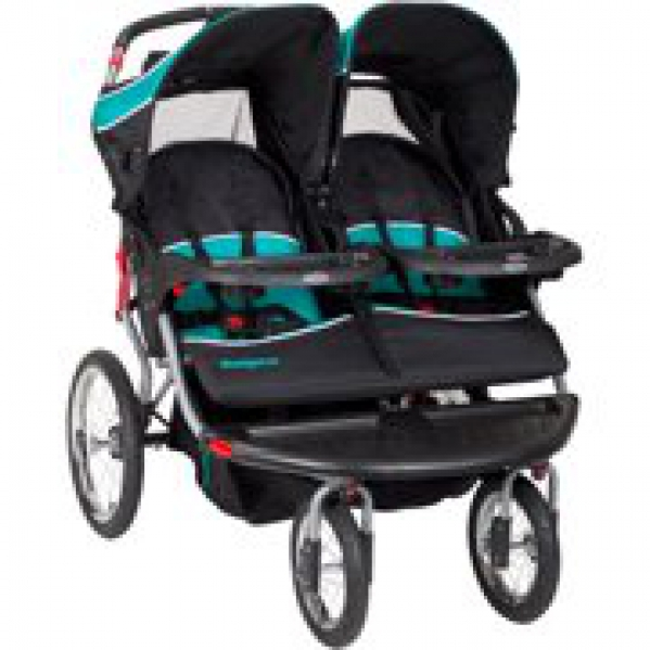 BabyQuip - Baby Equipment Rentals - Double Side-by-Side Stroller - Double Side-by-Side Stroller -