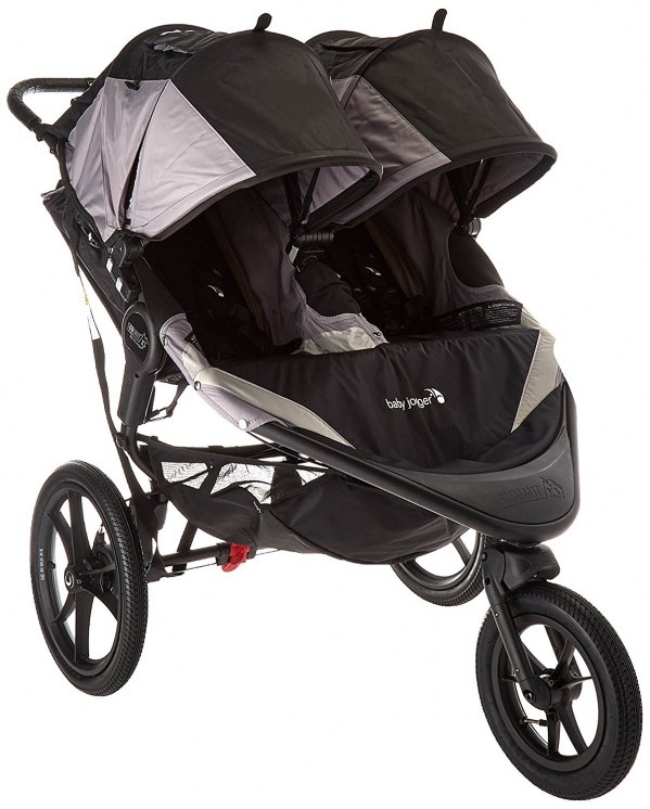Double Jogging Stroller, Baby Jogger Sumit X3