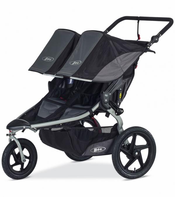BabyQuip - Baby Equipment Rentals - Double Jogging Stroller, BOB Revolution Duallie - Double Jogging Stroller, BOB Revolution Duallie -