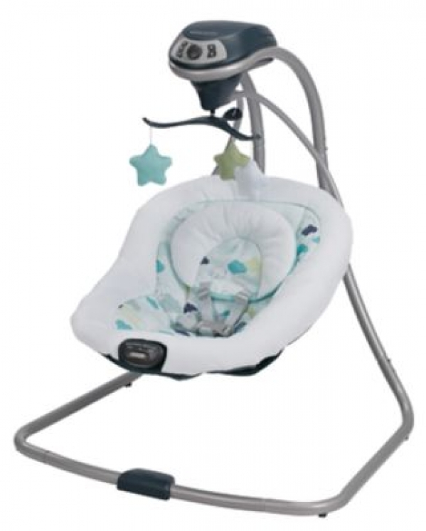 BabyQuip - Baby Equipment Rentals - Graco Simple Sway Baby Swing - Graco Simple Sway Baby Swing -