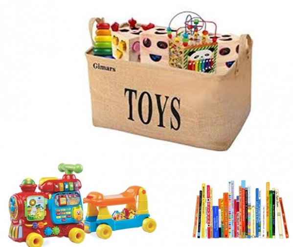 BabyQuip - Baby Equipment Rentals - Keep It Exciting Toy & Book Package - Keep It Exciting Toy & Book Package -