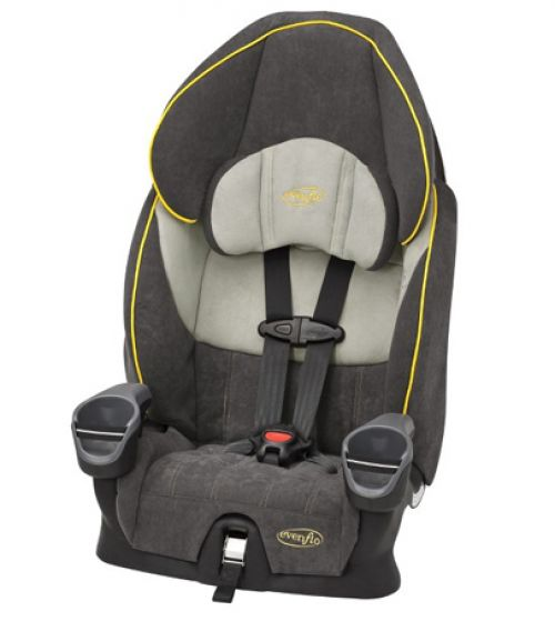 BabyQuip - Baby Equipment Rentals -  Car Seat-Basic Harness Booster -  Car Seat-Basic Harness Booster -
