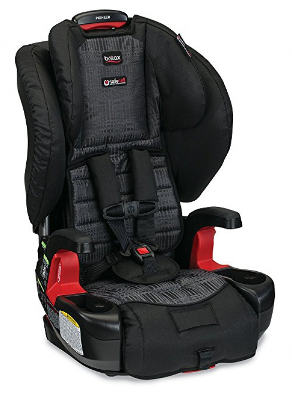 BabyQuip - Baby Equipment Rentals - Car Seat- Britax Pioneer Combo Harness-2-Booster - Car Seat- Britax Pioneer Combo Harness-2-Booster -