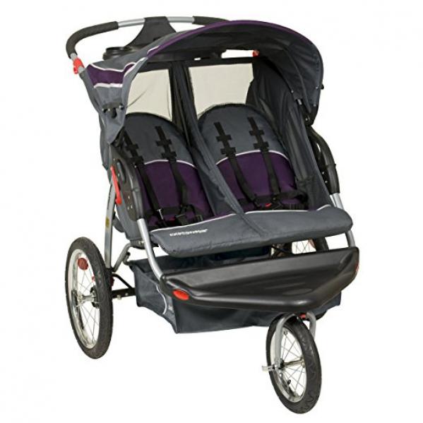 BabyQuip - Baby Equipment Rentals - Stroller-Double Jogging - Stroller-Double Jogging -