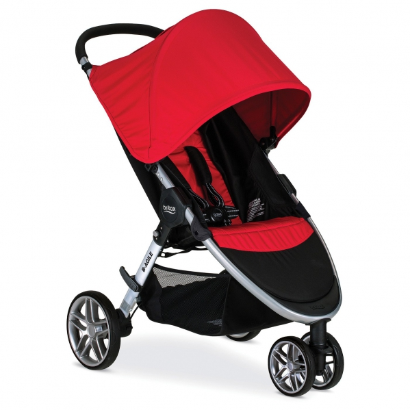 BabyQuip Baby Equipment Rentals - Stroller (Britax B Agile or B Lively) - Jessica O
