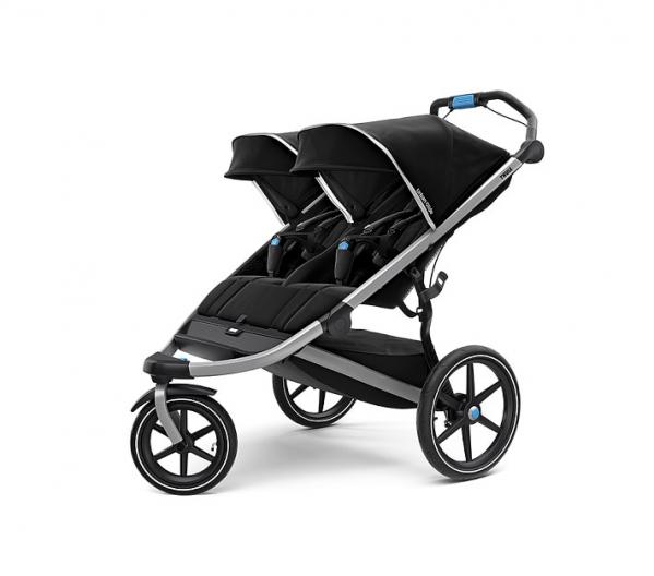 BabyQuip - Baby Equipment Rentals - Thule Urban Glide 2 Double Stroller - Thule Urban Glide 2 Double Stroller -