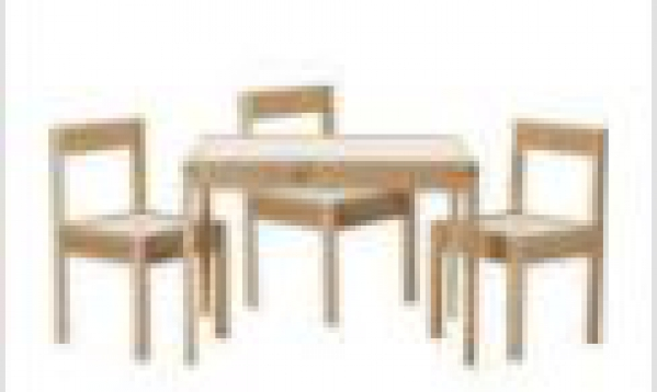 BabyQuip - Baby Equipment Rentals - Table and Chair Set - Table and Chair Set -