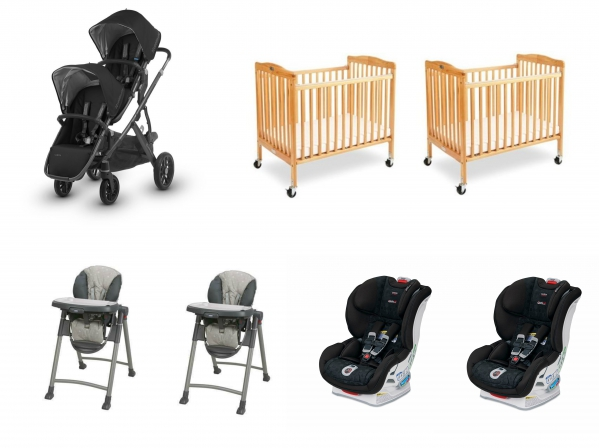 BabyQuip - Baby Equipment Rentals - Twin Package - Twin Package -