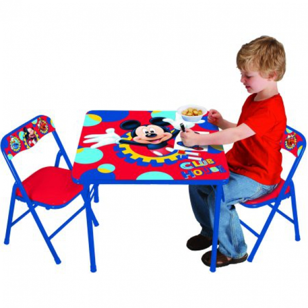 BabyQuip - Baby Equipment Rentals - Kids Table & Chairs - Mickey Mouse Theme - Kids Table & Chairs - Mickey Mouse Theme -