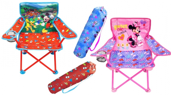 BabyQuip - Baby Equipment Rentals - Mickey or Minnie Mouse Portable Folding Chair - Mickey or Minnie Mouse Portable Folding Chair -
