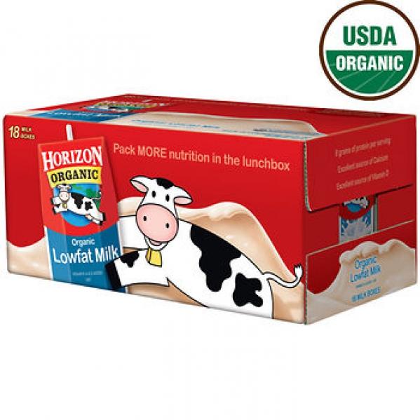 BabyQuip - Baby Equipment Rentals - Horizon Organic 1% Low-Fat Milk, 18 pk./8 oz. - Horizon Organic 1% Low-Fat Milk, 18 pk./8 oz. -