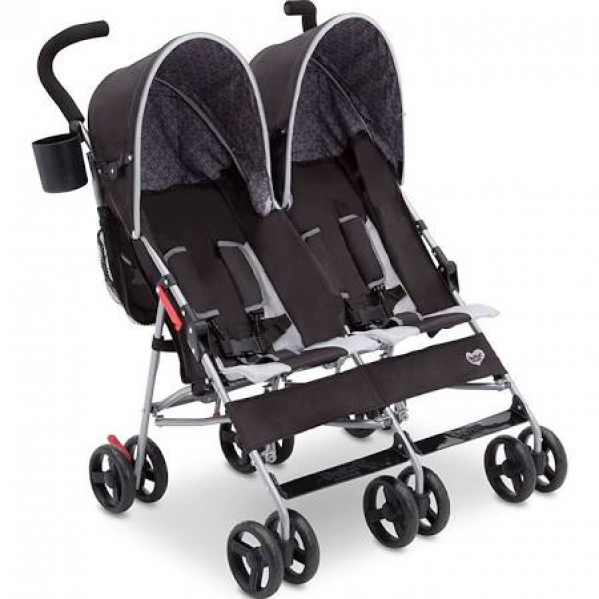 BabyQuip - Baby Equipment Rentals - Lightweight Double Stroller - Lightweight Double Stroller -