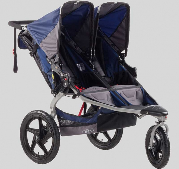 BabyQuip - Baby Equipment Rentals - Stroller: BOB Revolution Double Stroller  - Stroller: BOB Revolution Double Stroller  -