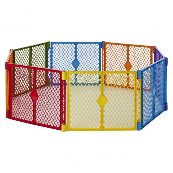 BabyQuip - Baby Equipment Rentals - Enclosure: North States 8-Panel Playard  - Enclosure: North States 8-Panel Playard  -