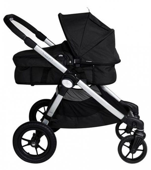BabyQuip - Baby Equipment Rentals - Stroller: City Select Bassinet - Stroller: City Select Bassinet -