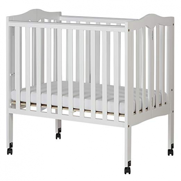BabyQuip - Baby Equipment Rentals - Mini Crib with Mattress and Linens - Mini Crib with Mattress and Linens -