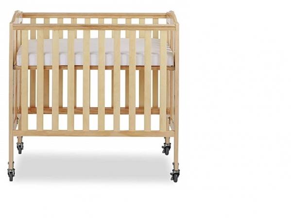 Mini Crib with Linens