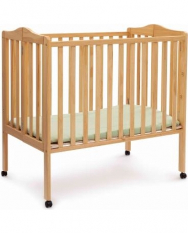 BabyQuip - Baby Equipment Rentals - Delta Mini Portable Crib - Delta Mini Portable Crib -