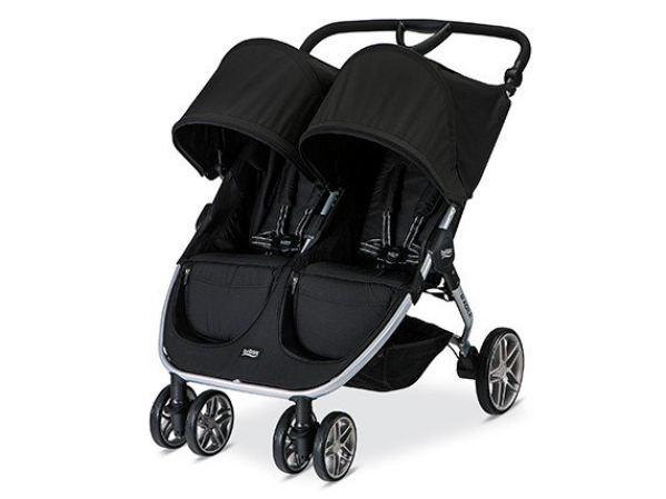 BabyQuip - Baby Equipment Rentals - Britax Side-By-SideDouble Stroller - Britax Side-By-SideDouble Stroller -