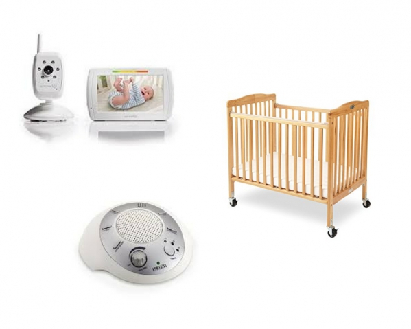 BabyQuip - Baby Equipment Rentals - Crib package: Full Size Save $4/day - Crib package: Full Size Save $4/day -