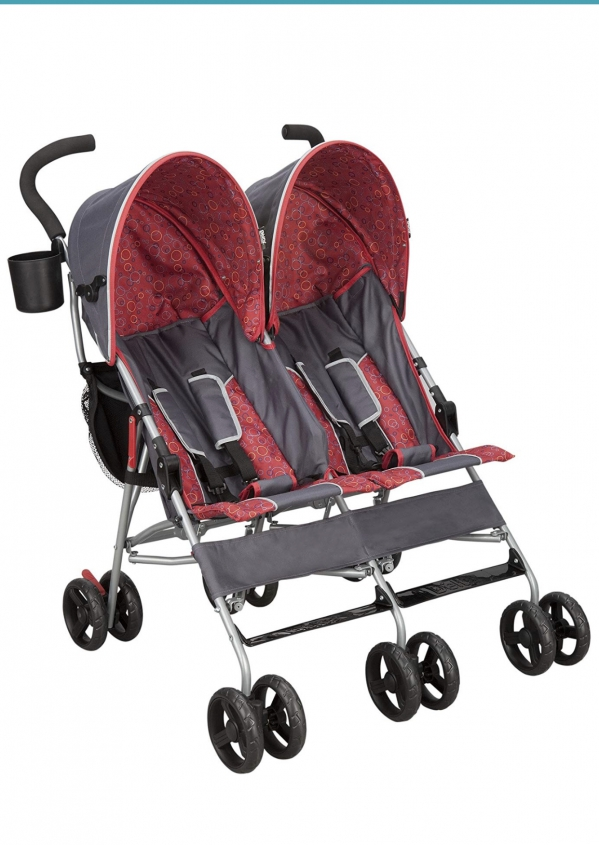 BabyQuip - Baby Equipment Rentals - Delta double umbrella stroller - Delta double umbrella stroller -