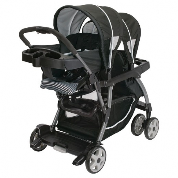BabyQuip Baby Equipment Rentals - Graco Click Connect Double Stroller - Natalie Eickhoff - Fort Worth, Texas