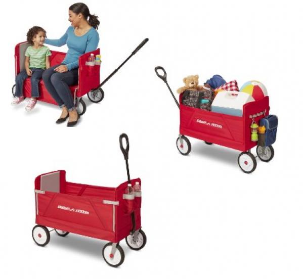 BabyQuip - Baby Equipment Rentals - Radio Flyer 3-in-1 wagon  - Radio Flyer 3-in-1 wagon  -