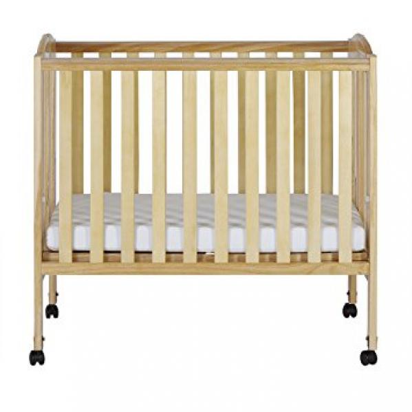 BabyQuip - Baby Equipment Rentals - Portable Mini Wooden Crib  - Portable Mini Wooden Crib  -
