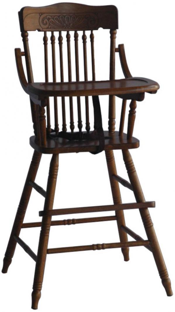 Vintage Wooden Highchair Hoover Alabama Bethany Bracker