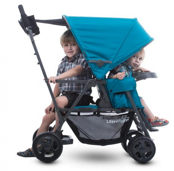 BabyQuip - Baby Equipment Rentals - Joovy Ultralight In-Line Double Stroller - Joovy Ultralight In-Line Double Stroller -