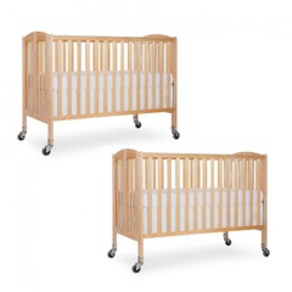 BabyQuip - Baby Equipment Rentals - Two Full-Size Cribs: Twin & Sibling Package - Two Full-Size Cribs: Twin & Sibling Package -