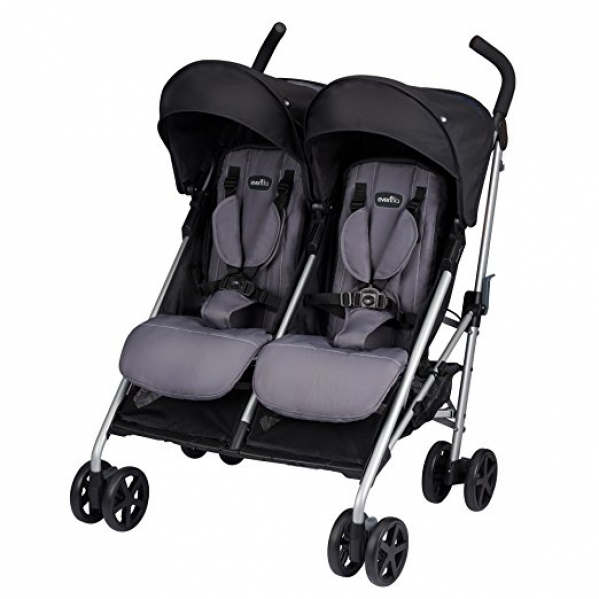 BabyQuip - Baby Equipment Rentals - Standard Double Stroller - Standard Double Stroller -