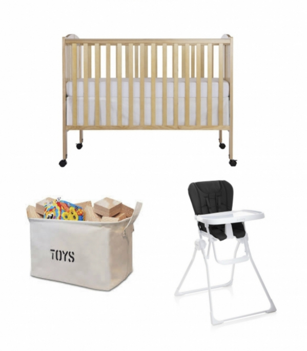 BabyQuip - Baby Equipment Rentals - Eat, Sleep and Play Package - Eat, Sleep and Play Package -