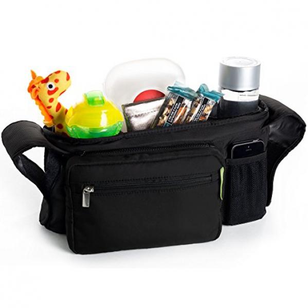BabyQuip - Baby Equipment Rentals - Single Stroller Organizer - Single Stroller Organizer -