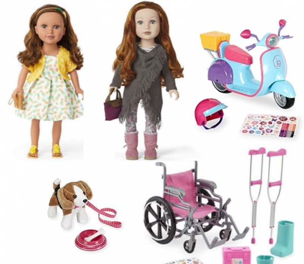 "BabyQuip - Baby Equipment Rentals - 18"" Doll Toy Package - 18"" Doll Toy Package -"