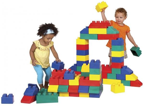 "BabyQuip - Baby Equipment Rentals - Soft Jumbo ""Lego"" Blocks - Soft Jumbo ""Lego"" Blocks -"